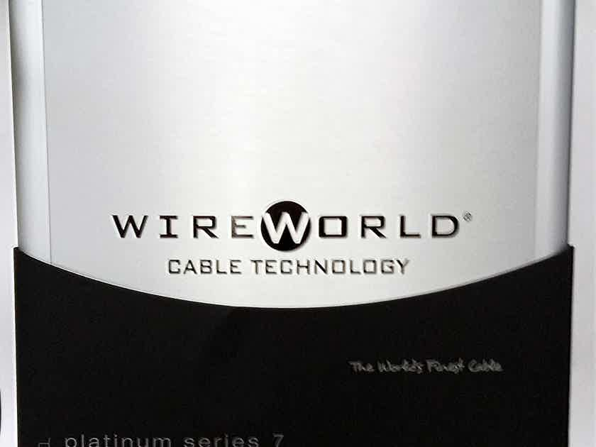 WireWorld Platinum Eclipse 7 Interconnect Cable (1 Meter - RCA): NEW-in-Box; 60% Off; Free Shipping - Last Pair !