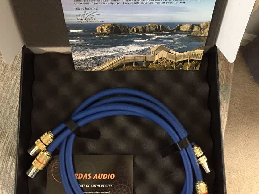 Cardas Audio Clear 1m XLR interconnects - mint customer trade-in