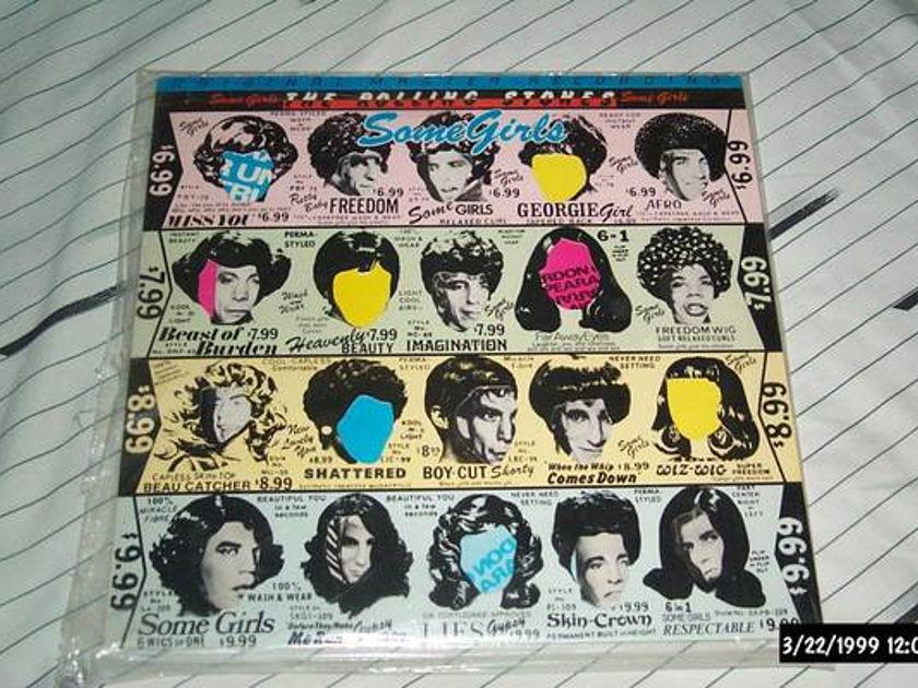 Rolling Stones - Some Girls mfsl audiophile vinyl lp nm