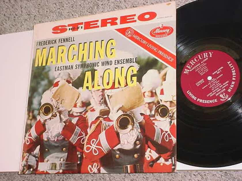 Mercury Living Presence SR90105 LP Record - Frederick Fennell Marching Along FR2/FR2