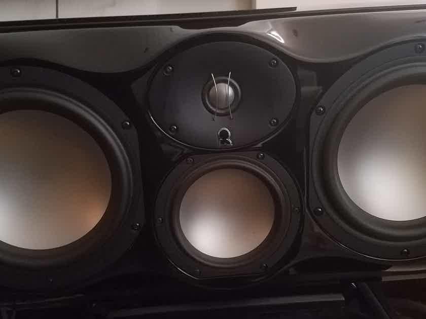 Revel Ultima2 Voice2 Black with custom pedestal* Price Reduced*