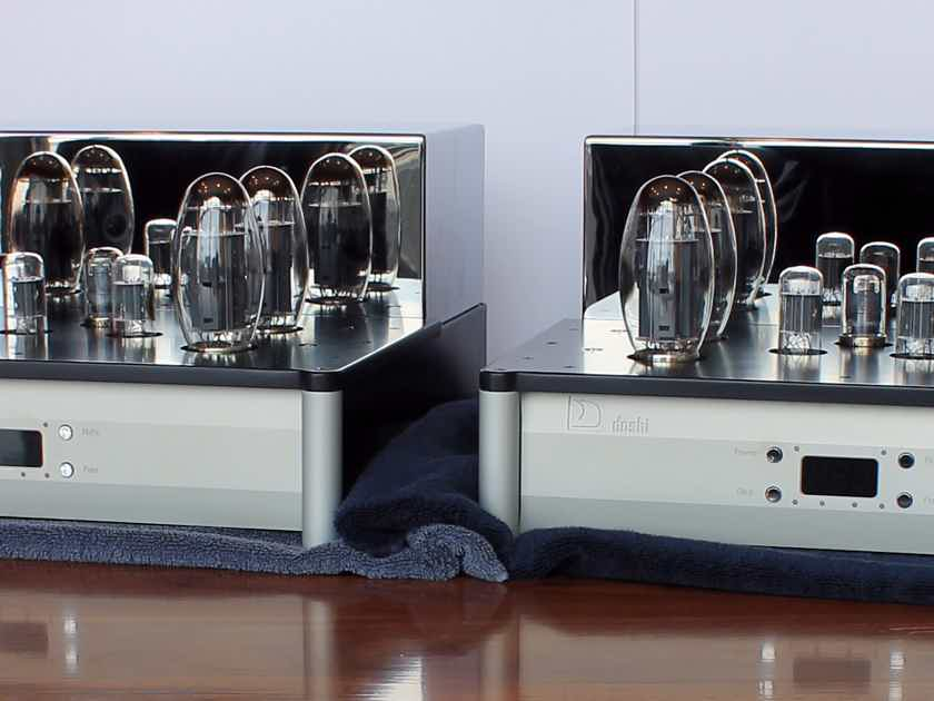 Doshi Audio V3.0 Jhor Monoblock Amplifier Pair, Silver, Store Demo