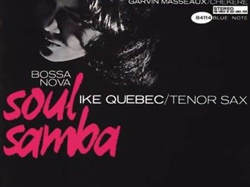 Ike Quebec Bossa Nova - Soul Samba 45 rpm, 2 LPs, Limited Ed.  180g Analogue Productions Out of Print