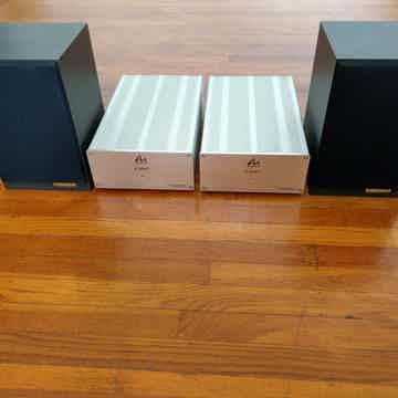 & Audio Note AX-ONE Speakers