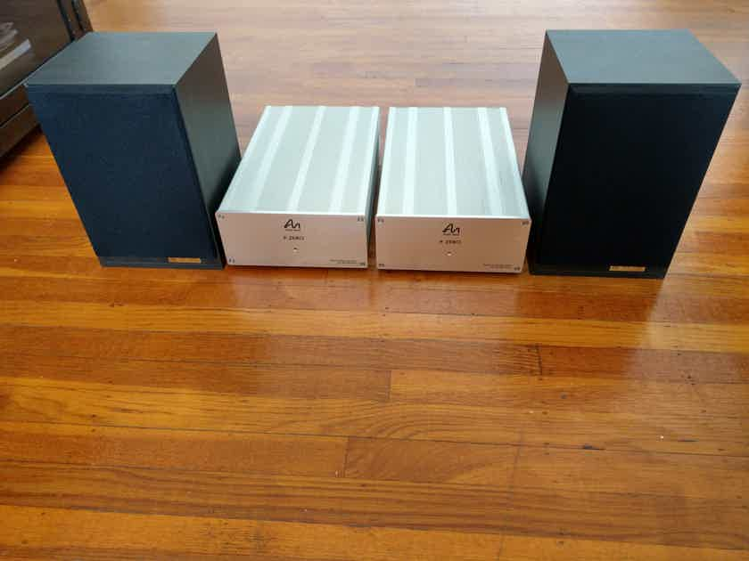 Audio Note (UK) AX-ONE Monitor Speakers - Excellent