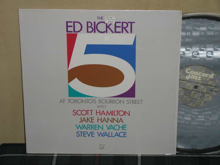 Ed Bickert 5 - At Toronto's Bourbon Street Concord Still in shrink