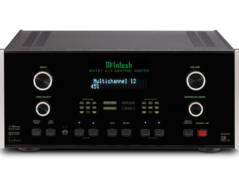 McIntosh MX-151 Home Theater Pre-amp/Processor
