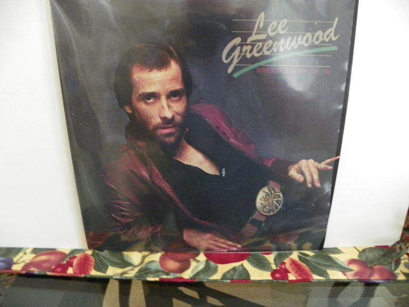 LEE GREENWOOD - SOMEBODY'S GONNA LOVE YOU NM