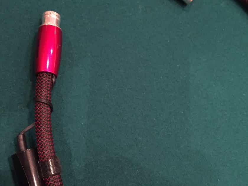 AudioQuest Fire Pair 72V DBS XLR .75 Meter Interconnect