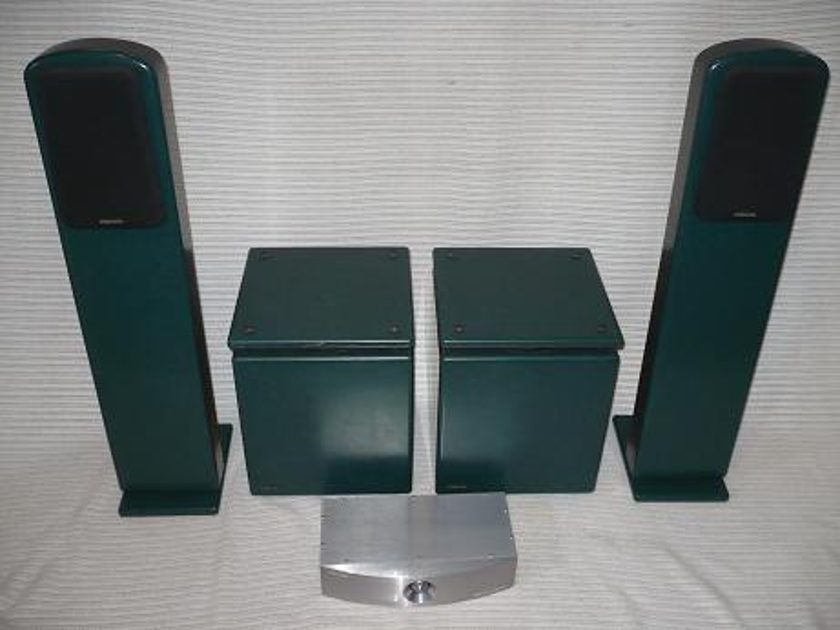 Unity Audio PARM Reference speaker system Cheap!