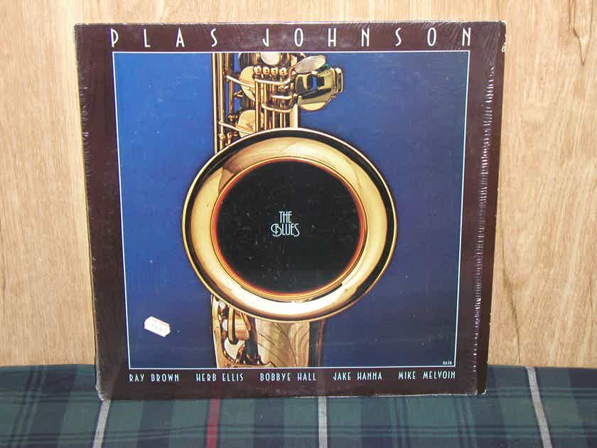 Plas Johnson - The Blues   Still in Shrink Concord  Jazz CJ-15 White Label