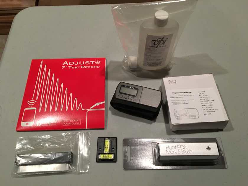 Vinyl Care Kit  (NEW) Turntable, Cartridge Set Up and Vinyl Care Kit.