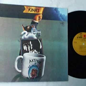 KINKS - ARTHUR   - - MEGA RARE LP SIGNED BY RAY DAVIES ...
