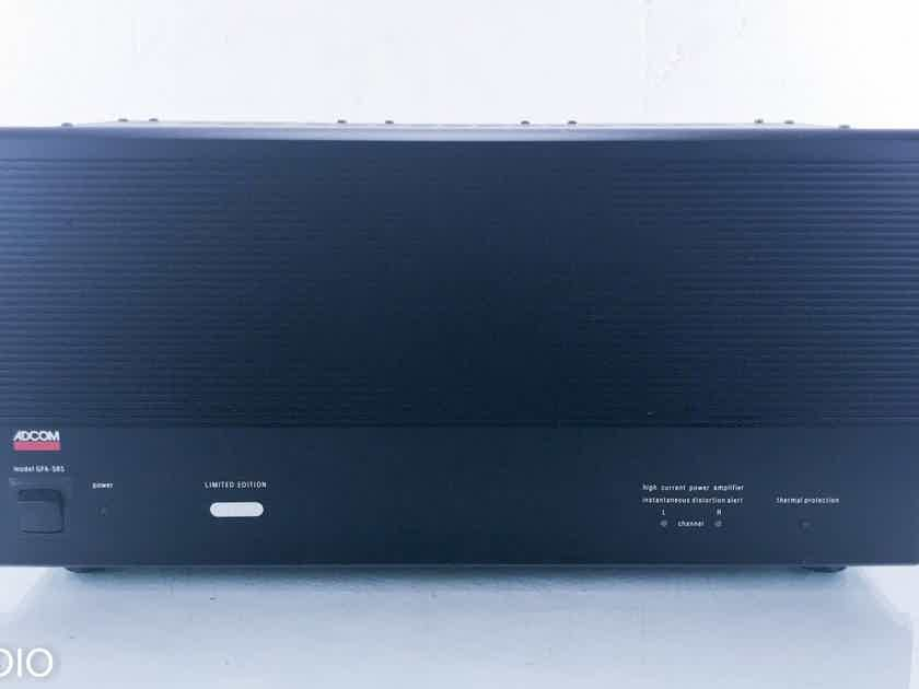 Adcom GFA-585 Stereo Power Amplifier GFA585 (14523)