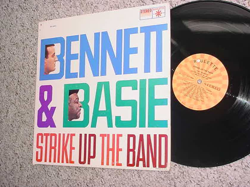 Bennett & Basie lp record - strike up the band Roulette sr 25231  SEE ADD