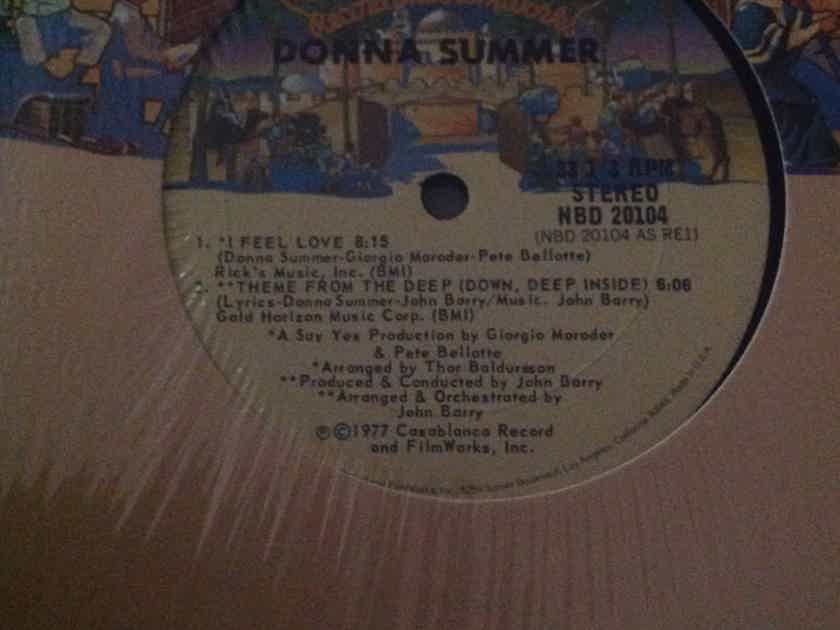 Donna Summer - I Feel Love 12 Inch Single One Sided Vinyl Casablanca Records NM
