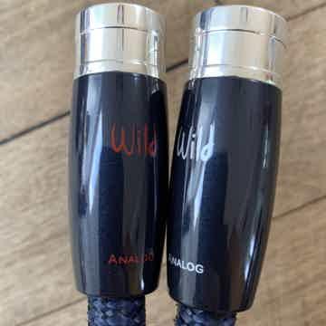 AudioQuest Wild Blue Yonder 1 meter XLR interconnects w...