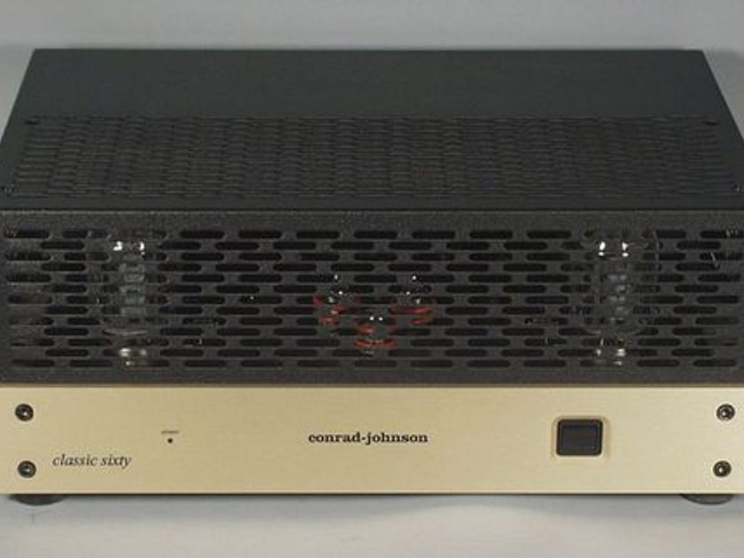 """Conrad Johnson Classic Sixty SE """"Class A Recommended"""" Vacuum-Tube Power Amplifier"""