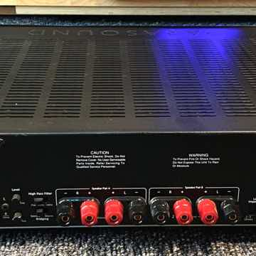 Parasound 2125 V2 Stereo Amp, selectiable A & B spks