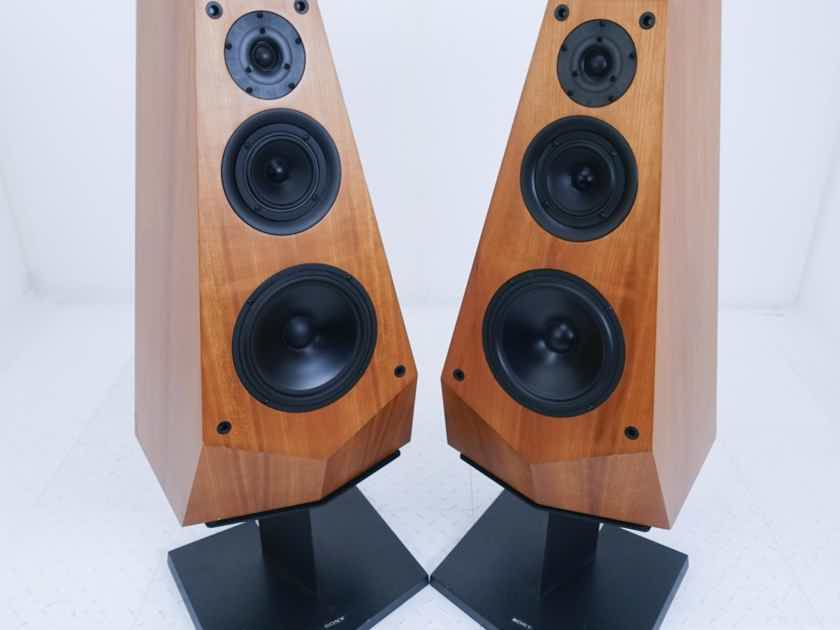 Sony SS-M7A Vintage Floorstanding Speakers Stands (16227)