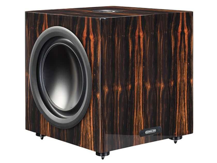 Monitor Audio Platinum PLW215 II Sub (Ebony or Rosewood): VERY GOOD C-Stock; Full Wrnty; 50% Off