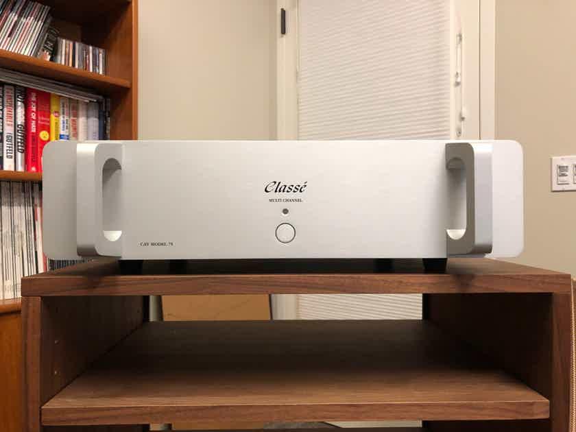 Classe CAV-75 six channel bridgeable amplifier in factory box
