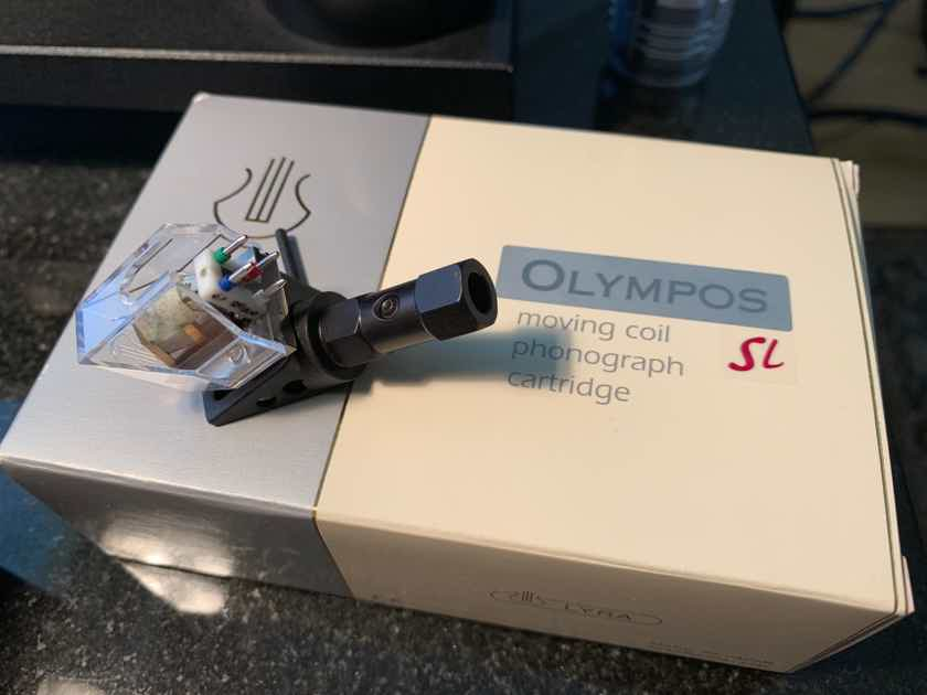 Lyra Olympos SL Limited Edition Moving Coil; Low Hours