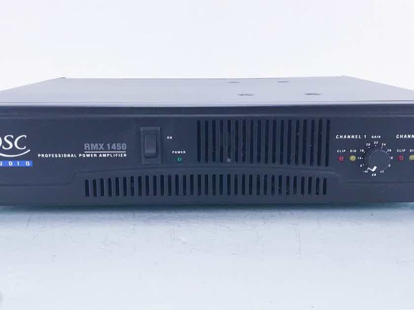 QSC Audio RMX 1450 Stereo Power Amplifier  (13661)