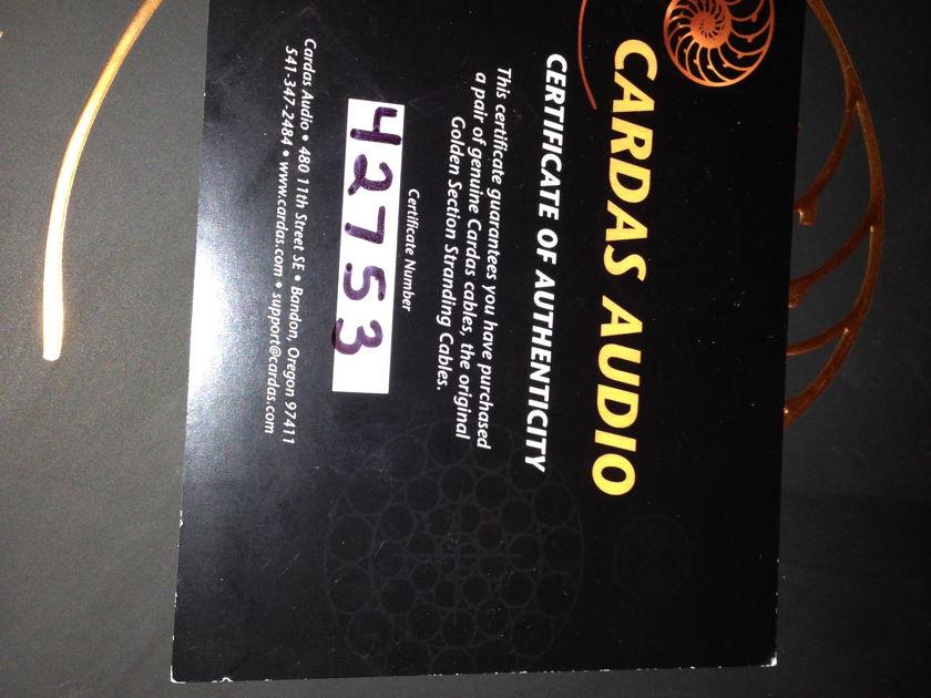 Cardas Audio Clear Tonearm cable (Flagship) DIN/ XLR (As New)