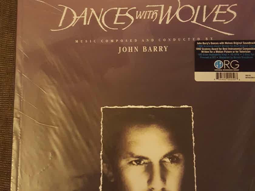 John Barry - New/Sealed Dances with Wolves Soundtrack - Limited Edition - 2 LP Set