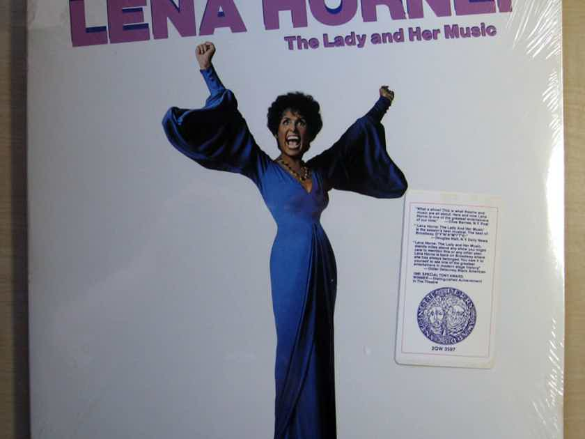 Lena Horne - The Lady And Her Music (Live On Broadway) - SEALED 1981 Qwest Records 2QW 3597