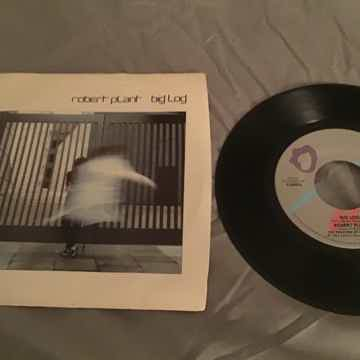Robert Plant 45 With Picture Sleeve Vinyl NM  Big Log/F...