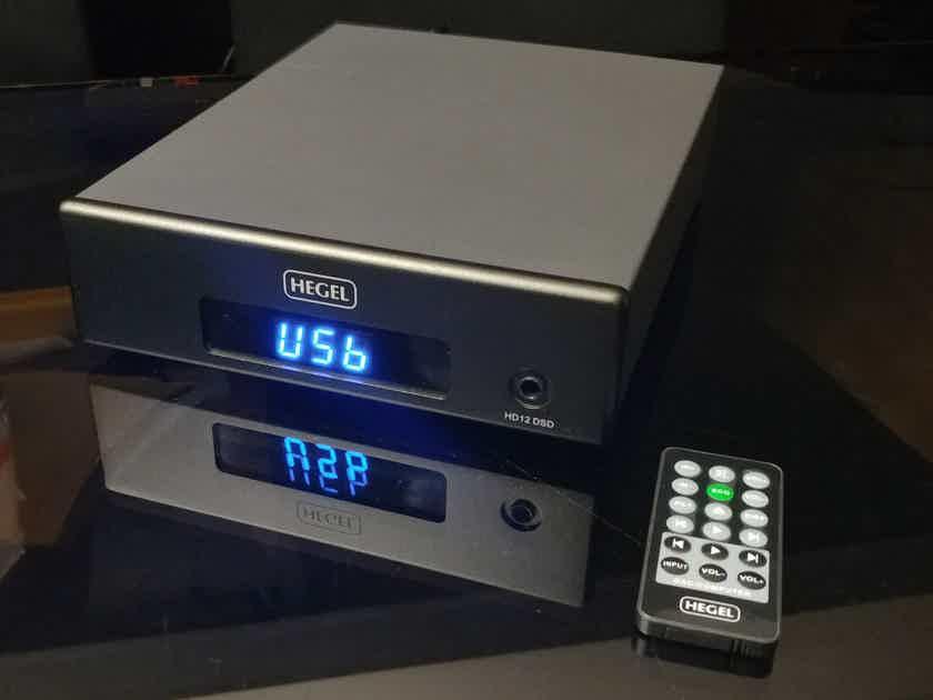 Hegel HD12 DSD DAC, Preamp & Headamp