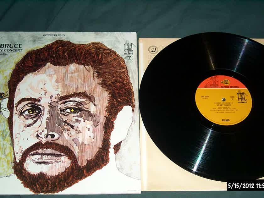 Lenny Bruce - The Berkeley Concert 2 LP Vinyl Frank Zappa Bizarre Reprise Records
