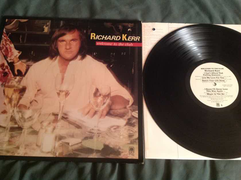 Richard Kerr Welcome To The Club A & M Records White Label Promo LP