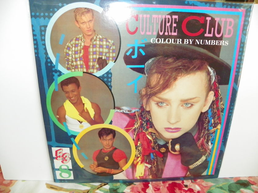 CULTURE CLUB/BOY GEORGE - COLOUR BY NUMBERS NM