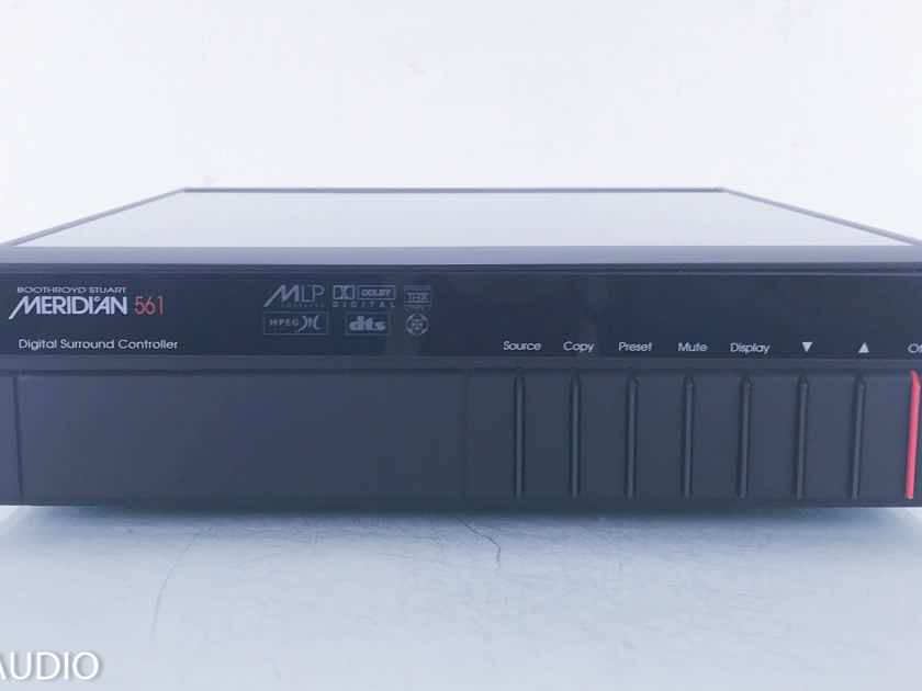 Meridian 561 Digital Surround Processor; MSR Remote (11424)