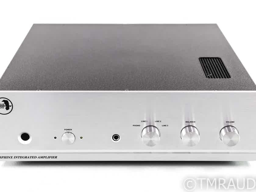Rogue Audio Sphinx V2 Stereo Tube Hybrid Integrated Amplifier; MM Phono; Remote; Silver (29089)