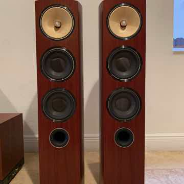 B&W 804 D2 Stereo Speakers - Rosenut - EXCELLENT Condition
