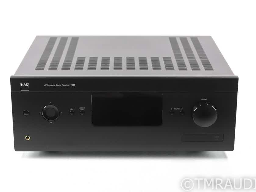 NAD T 758 v3 7.1 Channel Home Theater Receiver; T758; Remote (29101)