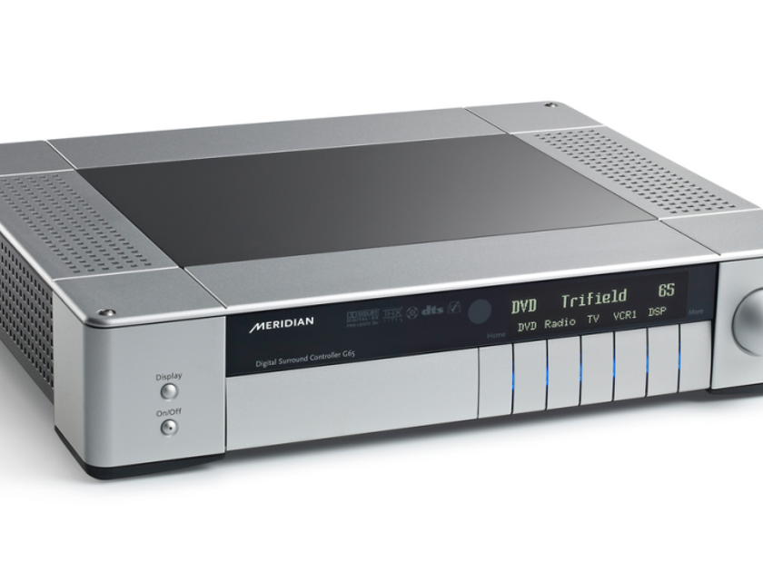 Meridian G65 surround controller (Black)