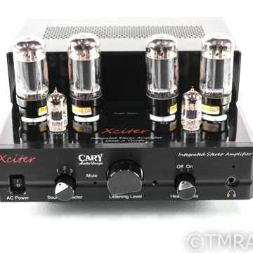 Cary Audio Xciter Stereo Integrated Tube Amplifier