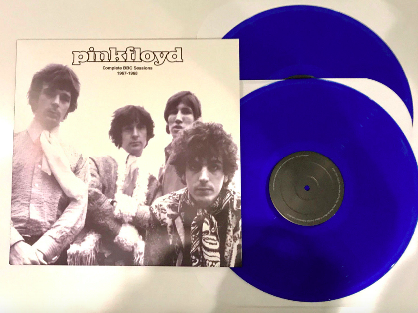 Pink Floyd - Complete BBC Sessions 1967-68  2LPs in Blue Vinyl - New Unplayed - IMPORT