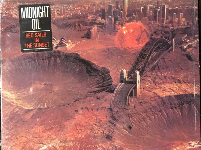 Midnight Oil Red Sails In The Sunset