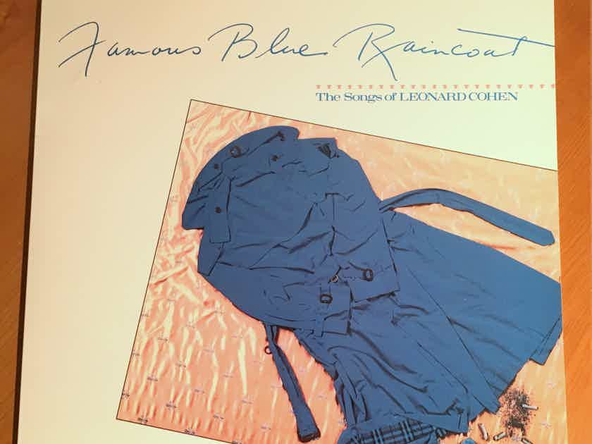 "Reduced ! NM/NM Jennifer Warnes ""Famous Blue Raincoat"" RTH 5052-1 RE RM BG... $65"