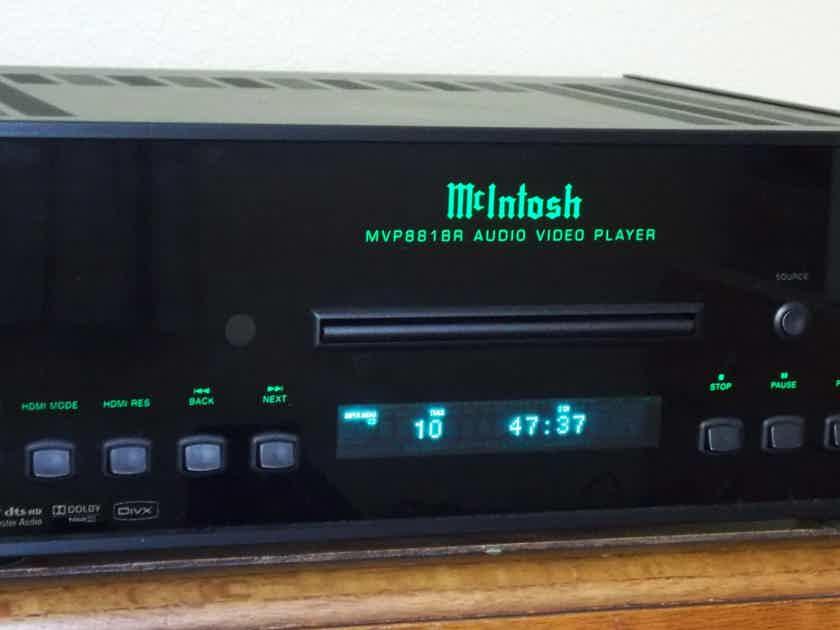 McIntosh MVP 881R Blu Ray Sacd Super Audio Universal Player