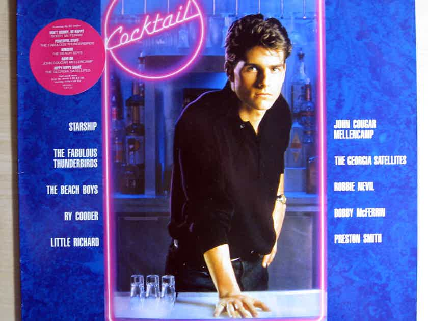 Cocktail - Various Artists -  Cocktail (Film Soundtrack) - France 1988 Elektra ‎7559-60806-1