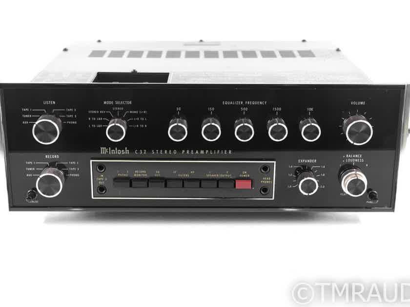 McIntosh C32 Vintage Stereo Preamplifier; C-32 (21132)