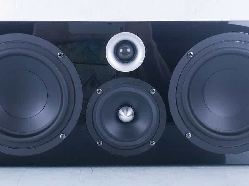 Pinnacle BD 600 Center Channel Speaker Black Piano Gloss (New / Old Stock) (15100)