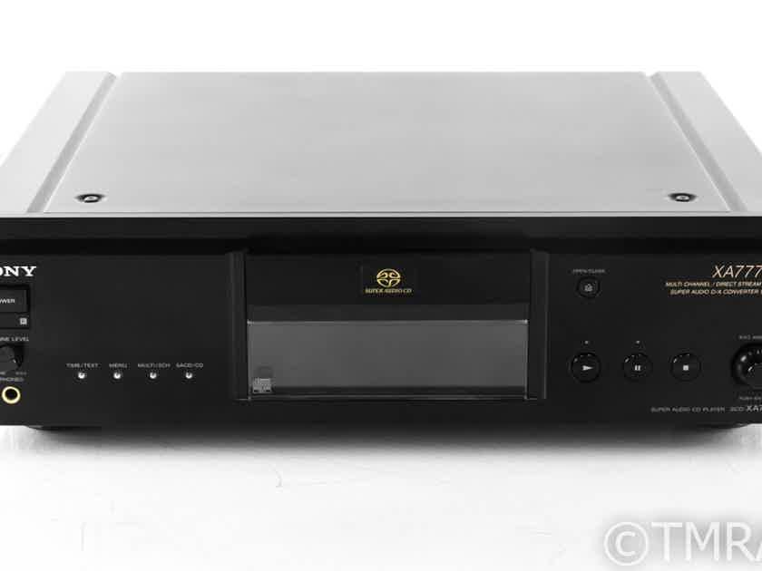 Sony SCD-XA777ES SACD / CD Player; SCDXA777-ES; Remote (22418)